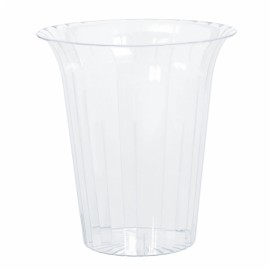 Flared Cylinder Container Large Plastic