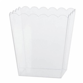 Scalloped Container Large Plastic