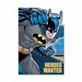 Batman Invitations Heroes Wanted