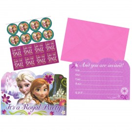 Frozen Party Invitations & Envelopes