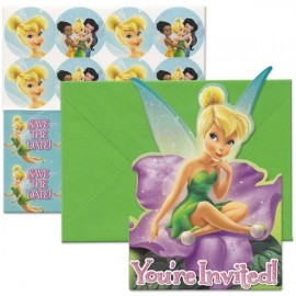 Tinker Bell Invitations & Best Friends Fairies
