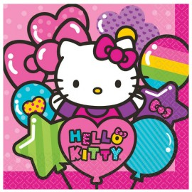 Hello Kitty Rainbow Luncheon Napkins