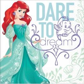 Ariel Dream Big Luncheon Napkins Little Mermaid