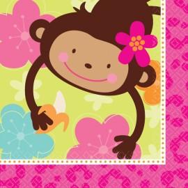 Monkey Love Luncheon Napkins