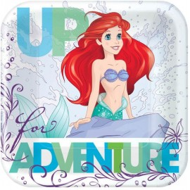 Ariel Dream Big Luncheon Plates Little Mermaid