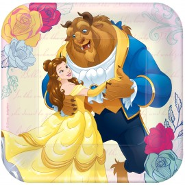 Beauty & The Beast Luncheon Plates