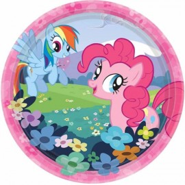 My Little Pony Luncheon Plates