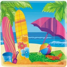 Snack Plates Surf's Up