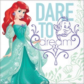 Ariel Dream Big Dinner Plates Little Mermaid