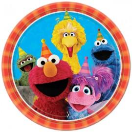 Sesame Street Dinner Plates Group Design