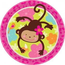 Monkey Love Dinner Plates