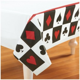 Place Your Bets Casino Plastic Tablecover