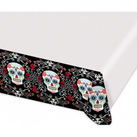 Day of the Dead Tablecover Plastic