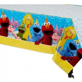 Sesame Street Tablecover Plastic