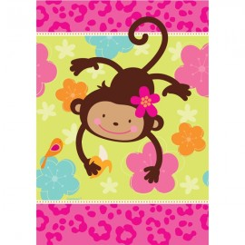 Monkey Love Tablecover, Paper