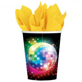 Disco Fever Paper Cups