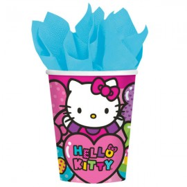 Hello Kitty Rainbow Cups Paper 266ml
