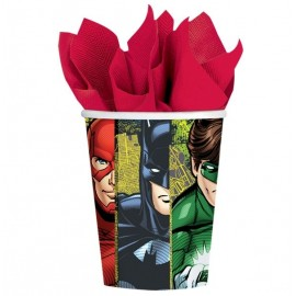 Justice League Cups Paper 266ml