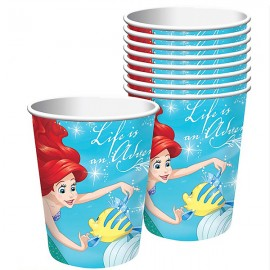 Ariel Dream Big Cups Paper Little Mermaid 266ml