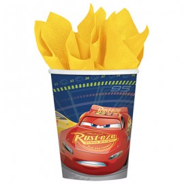 Cars 3 Cups Paper 266ml