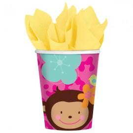 Monkey Love Cups Paper