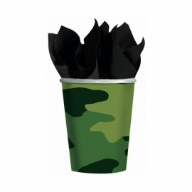 Camouflage Cups Paper