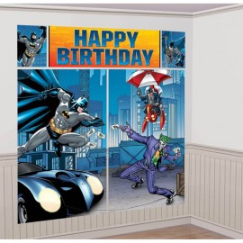 Batman Scene Setter Wall Decorating  Kit