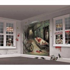 Asylum Wall Scene Setter Decorating Kit
