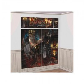 Haunted Mansion Wall Scene Setter Decorating Kit