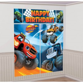 Blaze & The Monster Machines Scene Setter Kit