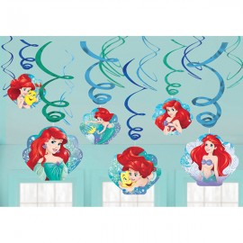 Ariel Dream Big Hanging Swirls Little Mermaid