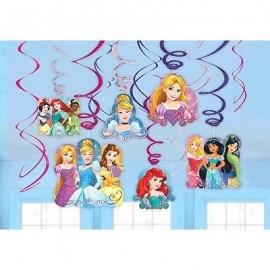 Princess Dream Big Hanging Swirls Decorations Value Pack