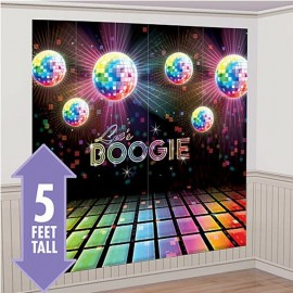 Disco Fever Scene Setter Wall Decorating Kit
