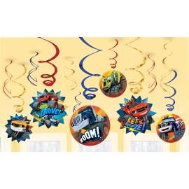 Blaze & The Monster Machines Hanging Swirls
