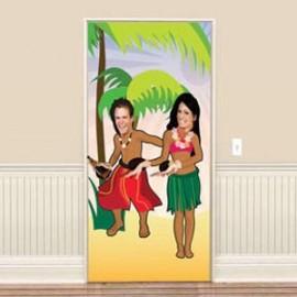 Door Banner Hula Dancing Fun