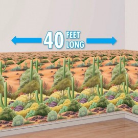 Scene Setter Wall Desert Flora Western