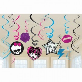 Hanging Swirls Monster High Value Pack