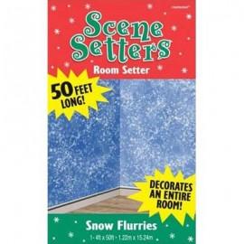 Scene Setter Wall Snow Flurries