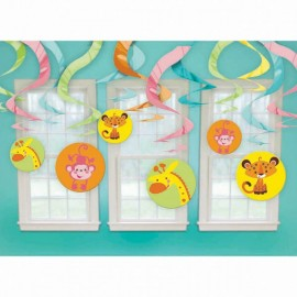 Hanging Swirls Fisher Price with Cutouts