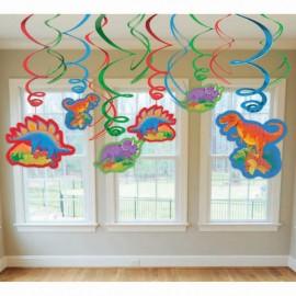 Hanging Swirls Dinosaur Value Pack