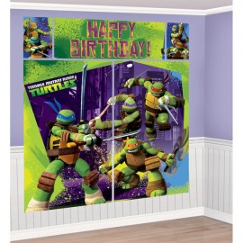 Teenage Mutant Ninja Turtles Scene Setter Kit