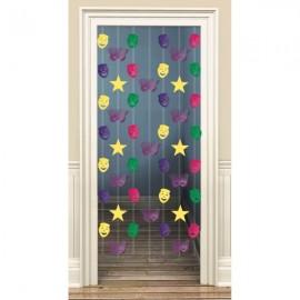Doorway Danglers Mardi Gras Foil
