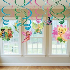 Tinker Bell Hanging Swirls & Best Friends Fairies