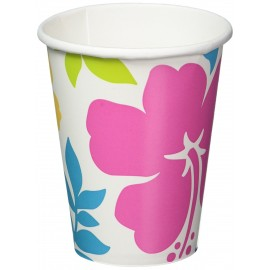 Hibiscus Paper Cups 266ml