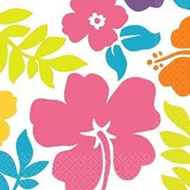 Hibiscus Luncheon Napkins