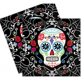Day of the Dead Lunch Napkins Value Pack