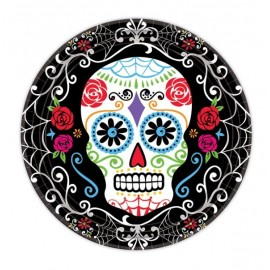 Day of the Dead Lunch Plates Value Pack