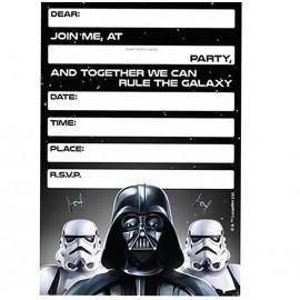 Star Wars Classic Invitations
