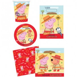 Peppa Pig Outback 40 Piece Party Pack