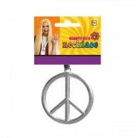 Necklace Peace Medallion Groovy 60's
